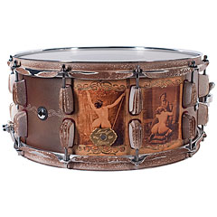 Masshoff Drums 14  x 6,5  Big Bottom Twin Shell Snare