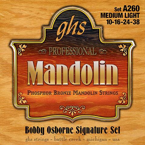 GHS A260 Phosphor Bronze Mandolin Strings