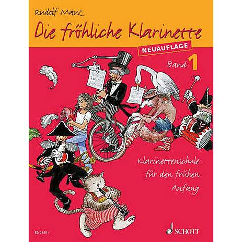 Schott Die fröhliche Klarinette Bd.1