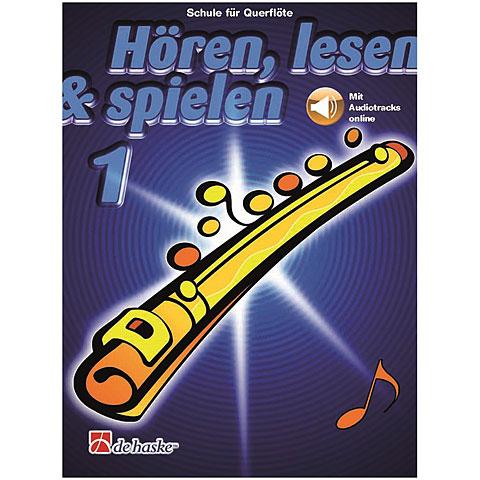 De Haske Hören,Lesen&Spielen Bd. 1 für Querflöte