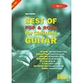 Libro de partituras Dux Best of Pop & Rock for Classical Guitar Vol.1