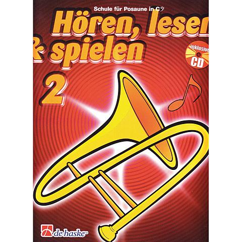 De Haske Hören,Lesen&Spielen Bd. 2 für Posaune in C