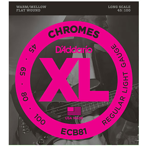 D'Addario ECB81 Chromes .045-100