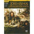 Play-Along Warner The Lord of the Rings Instrumental Solos for Alto-Sax