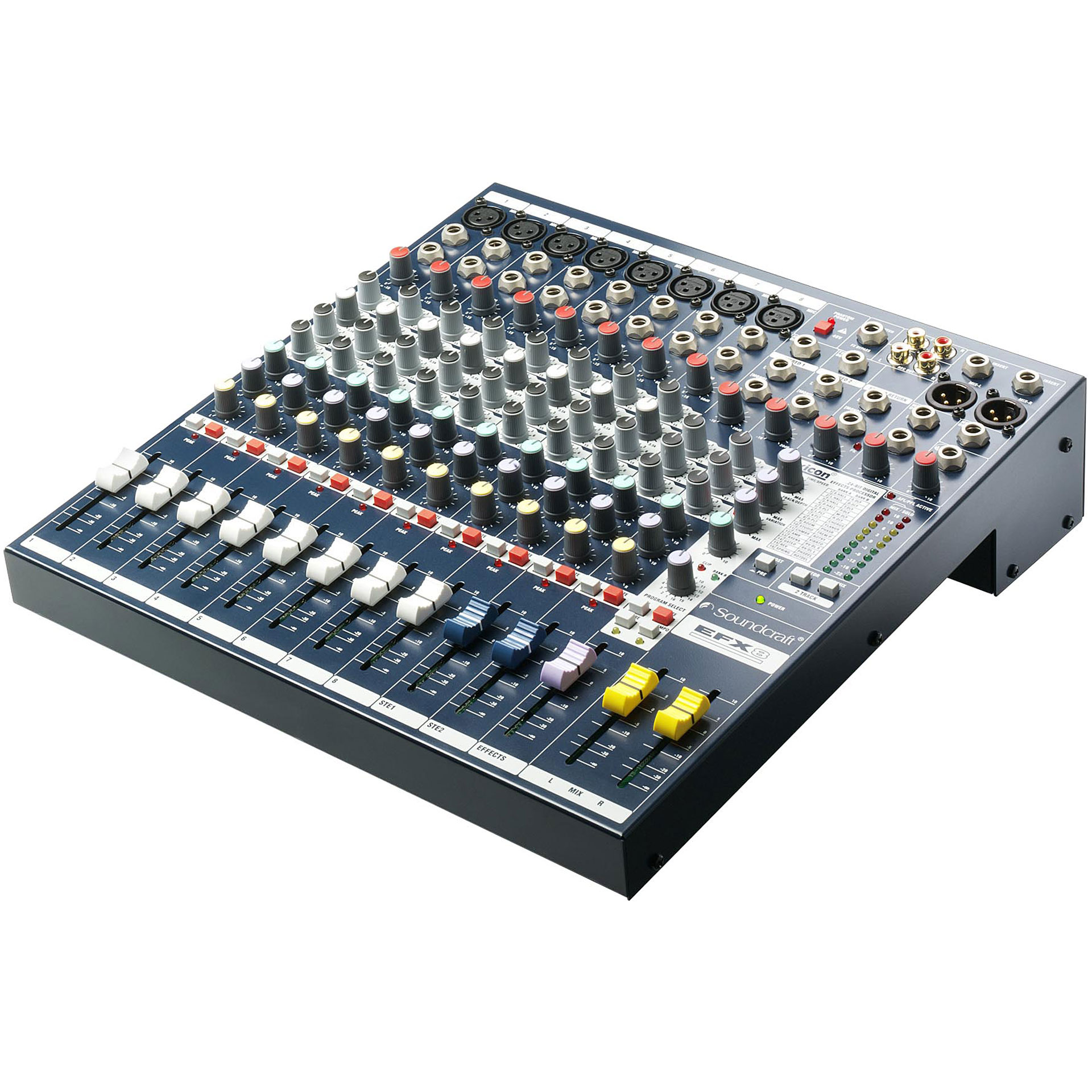 soundcraft efx8 mesa de mezclas