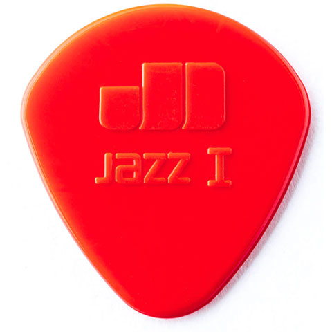 Dunlop Nylon Jazz I rojo (6 unid.)
