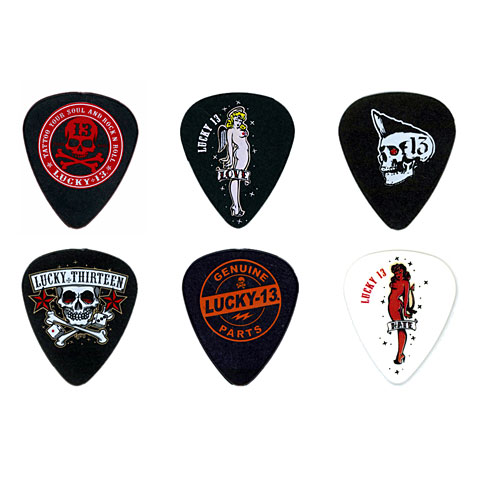 Dunlop Lucky 13 1.00mm (6 unid.)