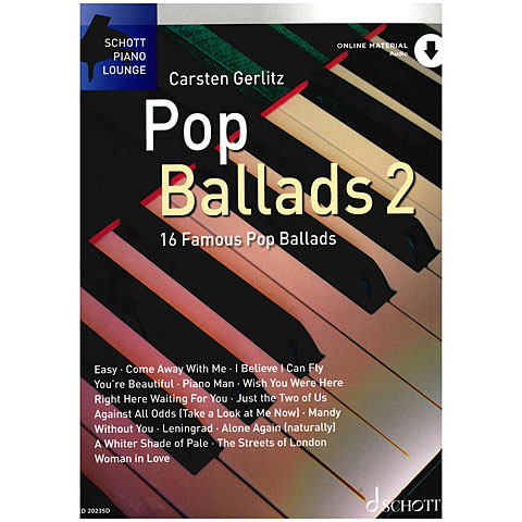 Schott Schott Piano Lounge Pop Ballads 2