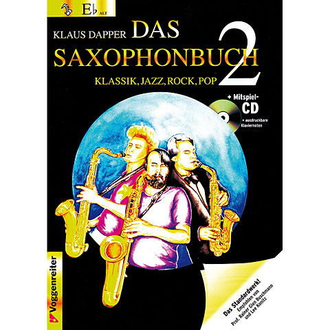 Voggenreiter Das Saxophonbuch Bd.2 - Eb Version
