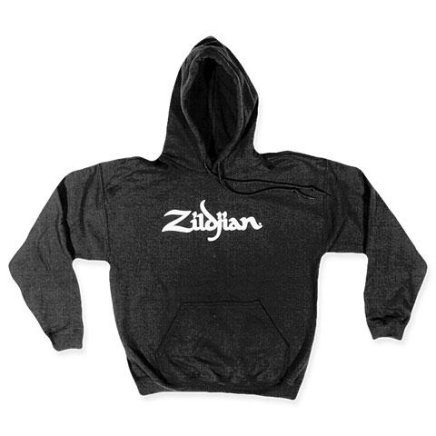 Zildjian Classic T7103 Hoodie Black White Logo XL