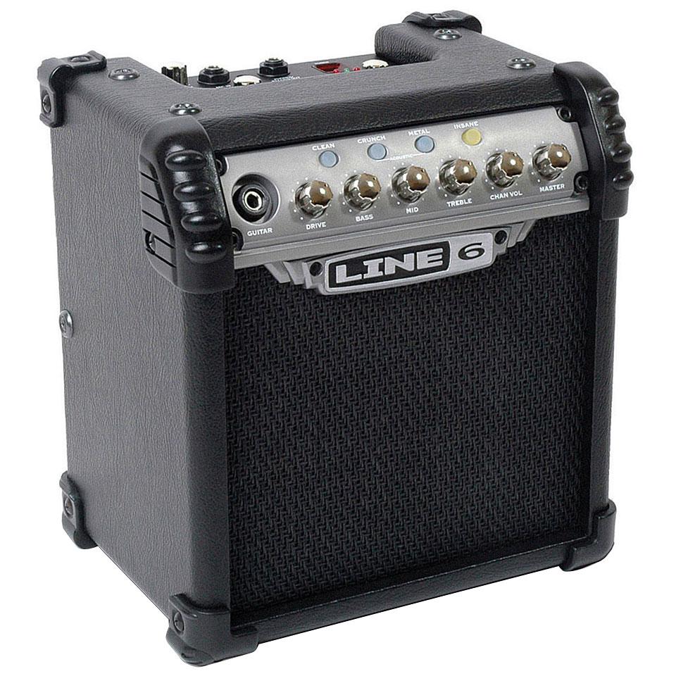 Line Art Xl 2008 : Line micro spider « amplificador guitarra eléctrica