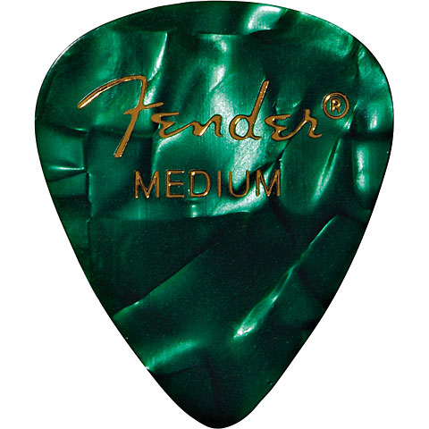 Fender 351 Green Moto, medium (12 Stk.)