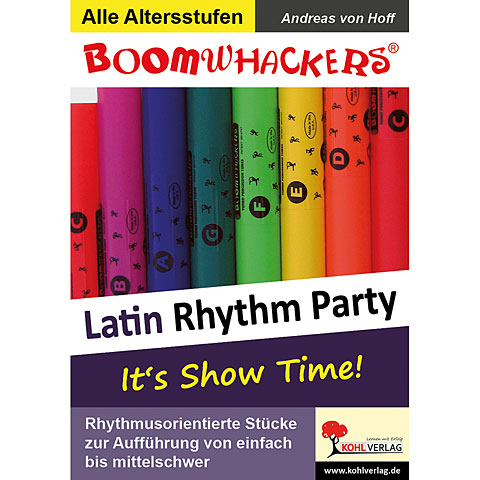Kohl Boomwhackers Latin Rhythm Party 1
